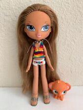 Girlz Girl Bratz Kidz Kid (Summer Vacation) Yasmin Doll Clothes Shoes Rare