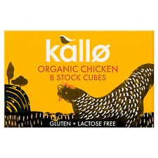 Kallo Organic Chicken Stock Cubes 3 X 8 PACK