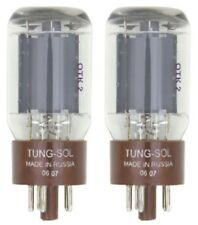A Matched set of two (2) Tung-Sol 5881 Power Vacuum Tubes / Valves
