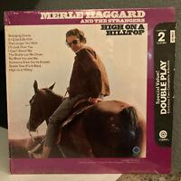 "MERLE HAGGARD - High On A Hill Top (Orig Shrinkwrap) - 12"" Vinyl Record LP - EX"