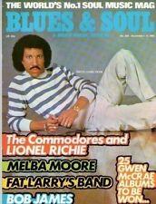 Lionel Richie Blues & Soul Issue 368 1982 Melba Moore Bob James Fat Larry's Band