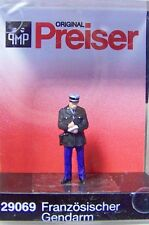 HO Preiser 29069 French Gendarm / Policeman  : 1/87 scale Individual Figure