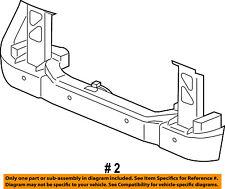 CHRYSLER OEM Radiator Core Support-Lower Tie Bar Bracket 55362295AF