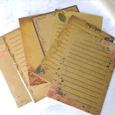 56 Pcs Letter Paper Writing Crafts Vintage Stationery Paper for Collect Students