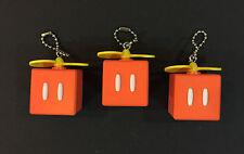 Nintendo Super Mario Propeller Power Box Keychain Figure Japan Set of 3