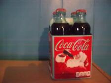 coca-cola 125th anniversary 4 pack w/hutchinson style bottles  unopened pristine