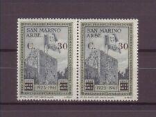 San Marino 1927 Espresso non emesso lire 1,75 su 50c. su 25c. MH varietà