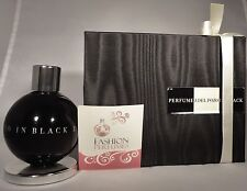 PERFUME J. DEL POZO IN BLACK FOR WOMEN 1.7 oz  **PERFUME**  -PUMP DOES NOT WORK-