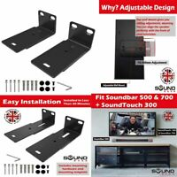 Adjustable Wall Mount Kit for Bose Sound bar 500 & 700 w/ Mounting Accessories