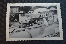 Vintage Car Photo 1946 1948 Dodge Convertible Rialto Liquors Parade Car 861