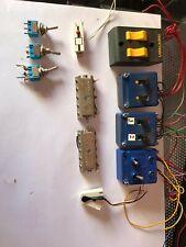 Lote componentes eléctricos maqueta de tren