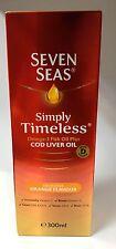SEVEN SEAS PURE COD LIVER OIL ORANGE FLAVOUR SYRUP - 300ML