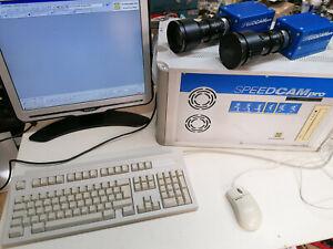 High Speed Kamera System Weinberger SpeedCam pro mit Rechner und 3 Kameras + Opj