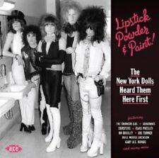 LIPSTICK POWDER & PAINT! THE NEW YORK DOLLS HEARD  CD NEW!