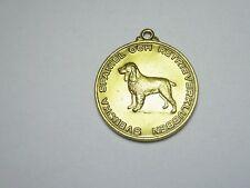 60er Medaille Hund Club svenska spaniel och retrieverklubben medalj Hederspris