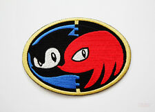 Sonic and Knuckles Embroidery Patch (7cm x 10cm)