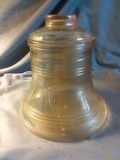 glass liberty bell with lid