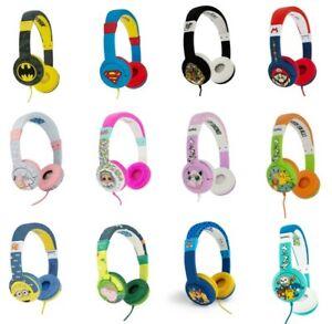 Children's Headphones LOL, Super Mario, Pokemon, Peppa Pig etc. No Packaging