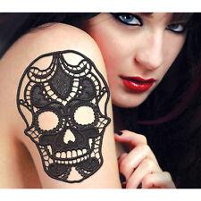 Lost in Lace Skull Body Art