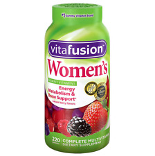 Vitafusion Women's Multivitamin Gummy Vitamins 220 ct berry gummies  Menospausia