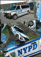 NYPD 7 x FOTO ca.17,7 x 10,2 New York Police Polizei (NO Patch / Abzeichen !) #2