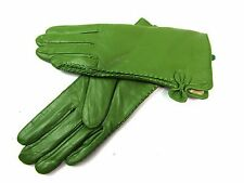 Ladies Womens New Premium Quality Genuine Super Soft Leather Gloves Fully Lined