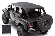 Smittybilt Extended Top & Tonneau/Cargo Cover Set 2010-2017 4dr Jeep Wrangler JK