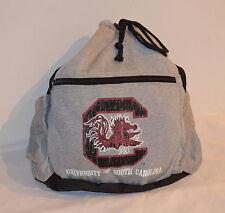 LOGO sport Drawstring Backpack University of South Carolina Officially Licensed