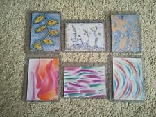 Original ACEO Artcard Set 6 x 'Abstract' ACEO by Tim Hughes CLEARANCE PRICE