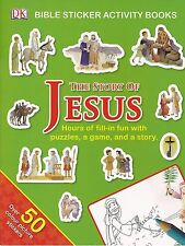 The Story Of Jesus - Sticker Activity Book