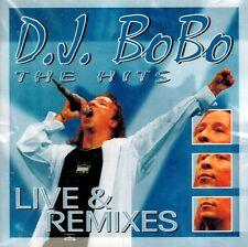 CD NEU/OVP - D.J. Bobo - The Hits - Live & Remixes