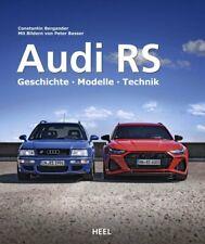 Audi RS (Modelle Technik RS2 RS3 RS4 RS5 RS6 RS7 Q3 Q8 TT quattro RS8) Buch book