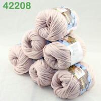 Hot Sale 6Balls X 50g Thick Chunky DIY Worsted 100% Cotton HAND Knitting Yarn 08
