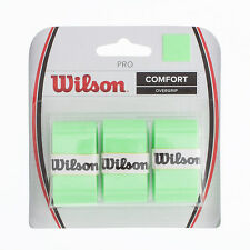 WILSON PRO OVERGRIP COMFORT Lama verde più grip per tennis, padel