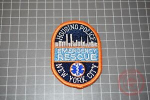 Housing Police New York City Emergency Rescue Small Patch (B-NY)