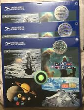 EXPO 2000 SPACE ACHEIVEMENT AND EXPLORATION PRESS SHEET  - LAST 3 SEALED SHEETS