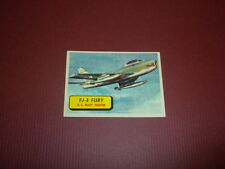 PLANES trading card #60 TOPPS 1957 Army Navy Marines Air Force PRINTED IN U.S.A