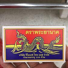 1Packx180Pcs/Box Phrayanak Red Sticks Original Thailand Wooden Matches Fire Star