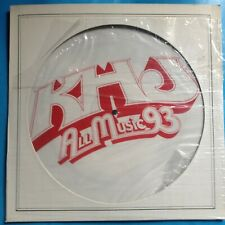 """Various-KhJ All Music 93- 12"""" PIC DISC-1978 Columbia PROMO ONLY- M-./M- UNPLAYED"""