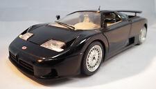 Bugatti 110EB von 1991 von Burago Modellauto  im Maßstab 1:18