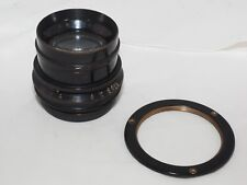 """Vintage Goerz Gotar 14""""  f/8 lens in barrel. Covers up to 11x14"""". Clean optics."""