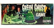 Vintage 1965 Transogram Green Ghost Glow in the Dark Game 100% Complete w/Box