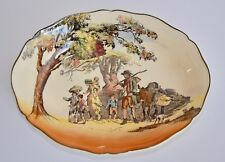 1941 Royal Doulton THE GIPSIES Old English Scenes Serving Bowl D4123
