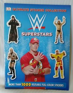 New WWE SUPERSTARS Ultimate Sticker Collection Book 2015 BradyGames