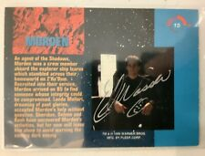 Babylon 5 Morden Ed Wasser Hand Signed 1995 Fleer Trading Card #15
