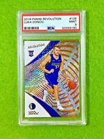 LUKA DONCIC PRIZM ROOKIE CARD GRADED PSA 9 MINT MAVERICKS  2018-19 Revolution RC