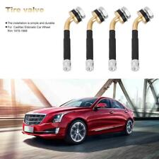 4pcs Copper TR417 Tubeless Tire Valve Stems for Cadillac Eldorado Car Wheel Rim