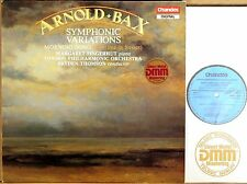 CHANDOS 1987 DIGITAL UK Bax FINGERHUT Symphonic Variations THOMSON ABRD-1226 NM-