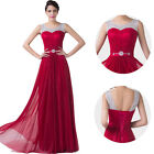 Formal Long Evening Party Bridesmaid Gown Prom Wedding MAXI Dress Masquerade New