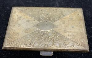 Antikes Zigarettenetui 800 Silber mit Punze sehr schön gearbeitet